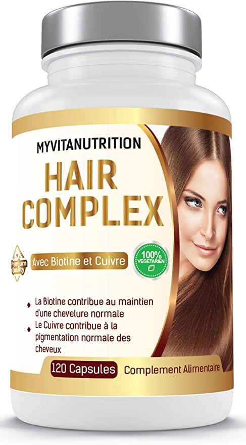 Meilleur Complément Alimentaire Pour Cheveux 2021 ...